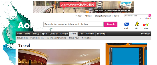 AOL Travel UK