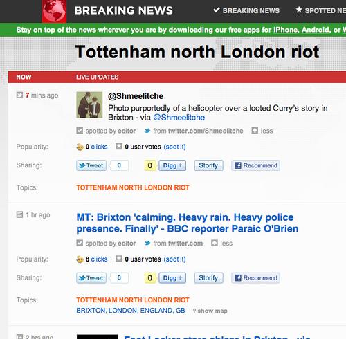 Breaking News Storify Button