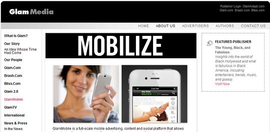 Glam Media Mobile