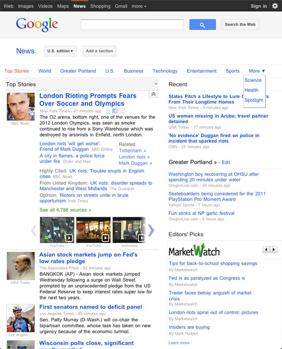 Google News Tweaks For Android and iPhone Devices