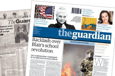 Guardian Website UK