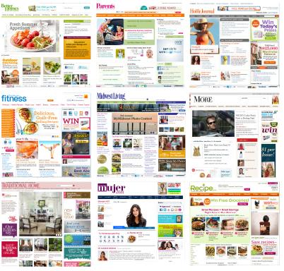 Meredith Corporation Websites