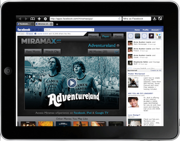 Miramax Movies Rented on Facebook
