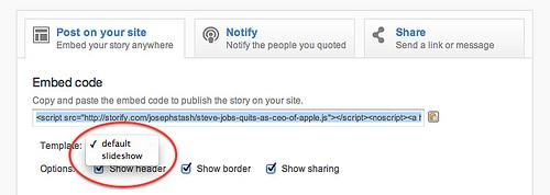 Storify Embed Code