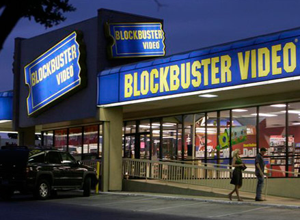 Blockbuster Facebook Streaming