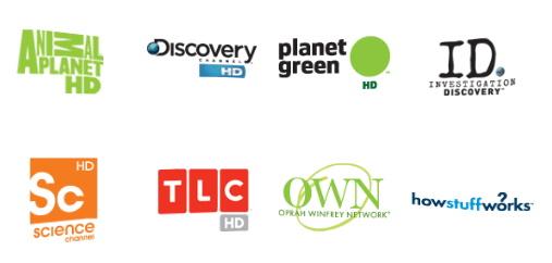 Discover Network Logos