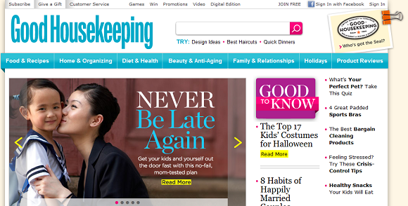 Good Housekeeping Screenshot