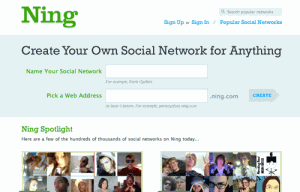 Ning Social Network