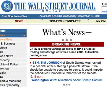 The Wall Street Journal Digital Network