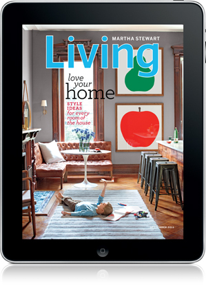 martha stewart living ipad