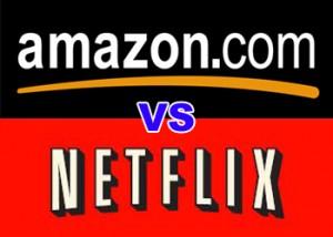 Amazon Vs Netflix Logo