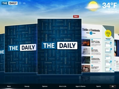 The Daily - iPad App