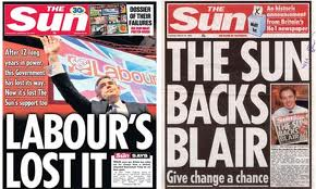 The Sun Newspaper Frontpage