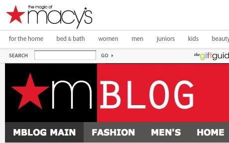 macys blog