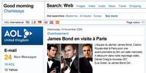 AOL Europe Homepage