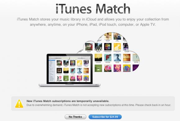 Apple iTunes Match