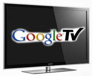 Google TV on Samsung Display