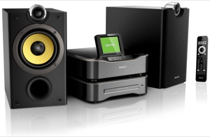 Spotify on Philips Streamium Systems