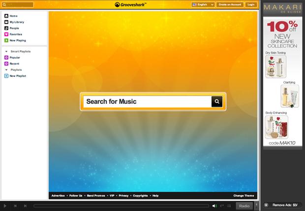 Grooveshark Music Service