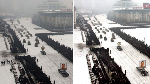 Kim Jong Il Funeral Photo