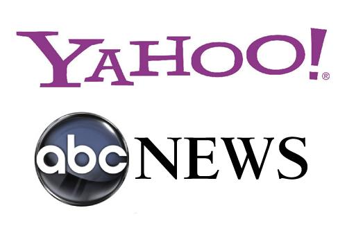 Yahoo and ABC News Logos