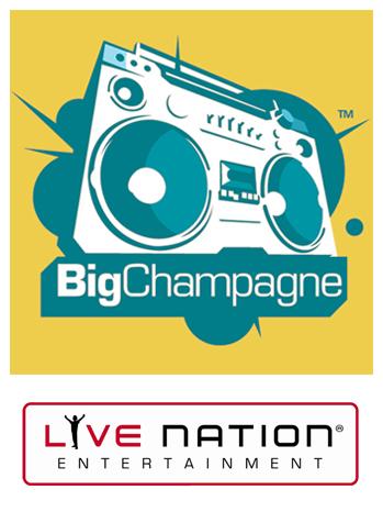 bigchampagne live nation