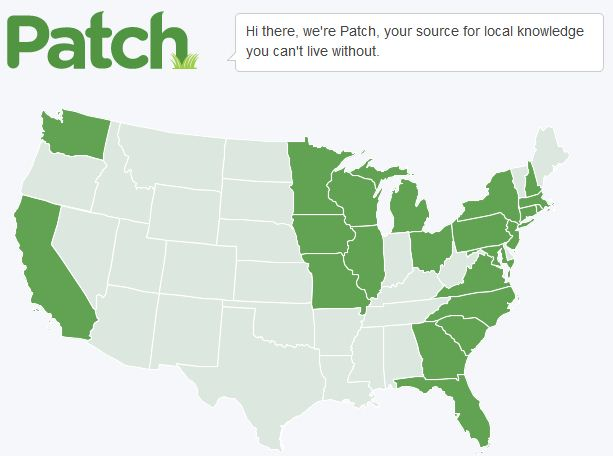 Patch Hyperlocal News Triples Traffic