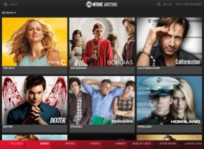 Showtime Anytime App For iPad Devices