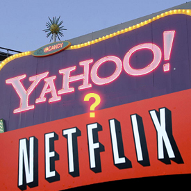 Yahoo Netflix Partnership