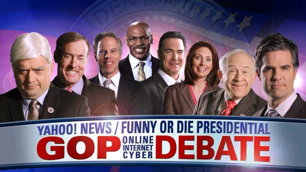Yahoo News Funny Or Die GOP Debate